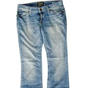 Lucky brand Lola boot light wash jeans